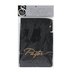 Swanson, Pastor Hand Towel, Cotton, Black & Gold, 10 x 15 inches