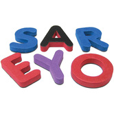 Magnetic Foam Small Uppercase Letters