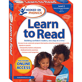 Hooked on Phonics, Learn to Read Level 2: Early Emergent Readers, Pre-K, Box Set, Ages 3-4