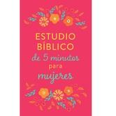 Estudio Biblico de 5 Minutos para Mujeres, by Barbour, Paperback