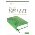 ESV New Inductive Study Bible, Imitation Leather, Green