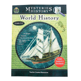 Teacher Created Resources, Mysteries In History: World History Activity Book, Grades 5-8