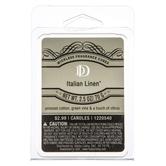 D&D, Italian Linen Scented Wax Melts, 6 Cubes, 2 1/2 Ounces