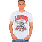 Red Letter 9, Lord's Gym, Men's Short Sleeve T-Shirt, White, M-3XL
