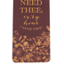 Salt & Light, I Need Thee Every Hour Tassel Bookmark, 2 1/4 x 7 inches