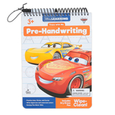 Carson Dellosa, Trace with Me Cars 3 Pre-Handwriting Activity Book, Grades PreK-2, 32 Pages, Ages 3-8