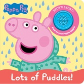 Peppa Pig, Lots of Puddles, by Phoenix International, Sound Book