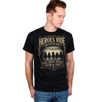 Kerusso, 1 Corinthians 15:20-22, Heroes Ride, Men's T-Shirt, Black, M-3XL
