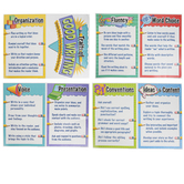 Teacher Created Resources, Traits of Good Writing Bulletin Board Display Set, 8 Pieces, Grades 1-6