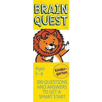 Brain Quest Kindergarten 300 Questions and Answers to Get a Smart Start