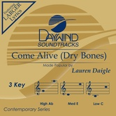 Come Alive (Dry Bones), Accompaniment Track, As Made Popular by Lauren Daigle, CD