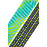 Deja Denim Collection, Wide Double-Sided Border Trim, 38 Feet, Embroidery and Southwest Patterns