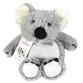 Warmies Cozy Plush Koala, Microwavable, Lavender Scent, Gray, 13 inches