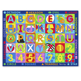 Melissa & Doug, Jumbo ABC-123 Rug, 58 x 79 inches, Ages 3 and Older