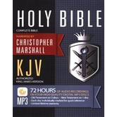 KJV Complete Audio Bible, Read by Chris Marshall, 4 MP3 CDs