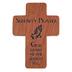 H.J. Sherman, Serenity Prayer Pocket Cross, Wood, 1 3/4 inches