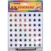 Creative Changes, Reusable Star Stickers, Multi-Colored, Pack of 49