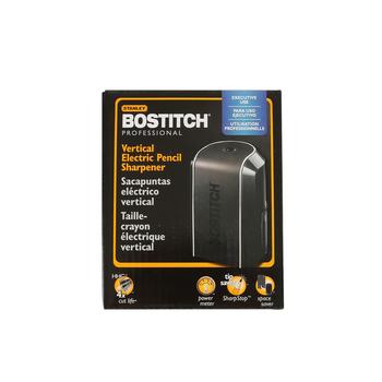 Bostitch, Vertical Electric Pencil Sharpener, 3.6 x 5.5 Inches, Black, 1 Piece