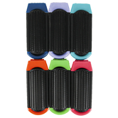 D.M. Merchandising, En Route, Foldable Mirror and Hairbrush, Assortment, 4 1/8 x 1 5/8 inches