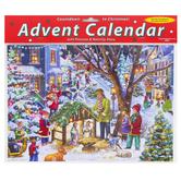 Vermont Christmas Co., Neighborhood Advent Calendar, 11 3/4 x 8 1/4 inches