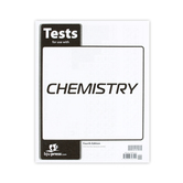 BJU Press, Chemistry Tests, 4th Edition, Grade 11