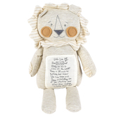 Demdaco, Noahs Ark, Brave Little Lion Plush Toy, Polyester, 16 inches