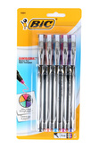 Bic, Intensity Marker Pens, Fine Point, Assorted Colors, Pack of 5