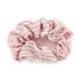 Fashion Tid Bits, Ruffled Hair Scrunchies, White, Pink, & Denim, 1 Each of 3 Designs