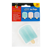Creative Teaching Press, Calm and Cool Ice Pops Designer Cut-Outs, 3 inches, 12 Each of 3 Designs
