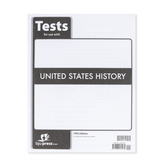 BJU Press, United States History Tests, 5th Edition, Paperback, Grade 11