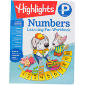Highlights, Preschool Numbers Learning Fun Workbook, Paperback, 48 Pages, Grade PreK