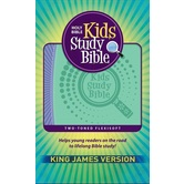 KJV Study Bible for Girls, Duo-Tone, Multiple Colors Available