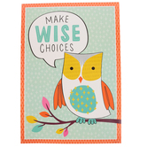 Renewing Minds, Make Wise Choices Motivational Poster, 13 x 19 inches