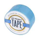 Neon Blue Art Project Tape, 1 7/8 inches x 20 yards, 1 Roll