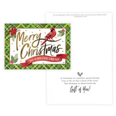 Renewing Faith, 1 Thessalonians 5:11 Special Friend Boxed Christmas Cards, Red/Green, 4 1/2 x 6 1/2 inches, 18 cards