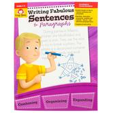 Evan-Moor, Writing Fabulous Sentences and Paragraphs Teacher Reproducible, Print, 112 Pages, Grades 4-6