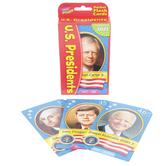 TREND enterprises Inc., U.S. Presidents Pocket Flash Cards, Multi-Colored, Grades 3-12