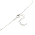 Modern Grace, James 1:2-3 Joy Pendant with Cross Necklace, Silver and Gold, 20 Inches