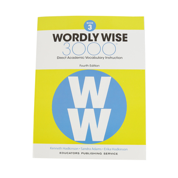 Wordly Wise 3000 4th Edition Student Book 3, Paperback, Grade 3