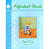 Memoria Press, Alphabet Book 2, by Leigh Lowe, Paperback, 95 Pages, Grades PreK-K
