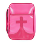 Dicksons, Youth Cross Bible Cover, Medium, Pink
