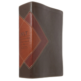 NLT Illustrated Study Bible, Duo-Tone, Brown and Tan