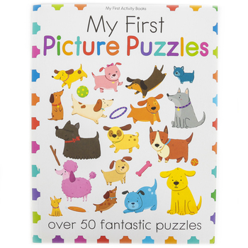 My First Picture Puzzles Activity Book, Paperback, 64 Pages, Ages 3-6