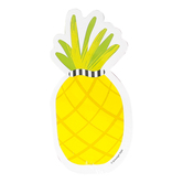 Schoolgirl Style, Pineapple Colorful Cut-Outs, 3  x 6 Inch, 36 Pieces