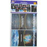 North Star Teacher Resources, Creation Bulletin Board Set, Various Sizes, 11 Pieces