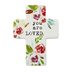 You Are Loved Mini Tabletop Cross, Ceramic, 5 3/4 x 4 1/4 inches