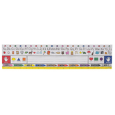 Renewing Minds, Traditional Manuscript Large Nameplates, 18 x 4 Inches, Set of 36, Grades PreK-K