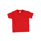 Gildan, Short Sleeve T-Shirt, Red, Youth Extra Small - Large, Pre-Shrunk Cotton, Youth XS-L
