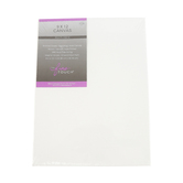 The Fine Touch, Stretched Artist Canvas Set, 9 x 12 x 0.75 Inches, White, Multi-pack of 2