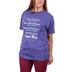 Red Letter 9, Psalm 17:8 I Am His, Women's Short Sleeve T-Shirt, Heather Purple, Small